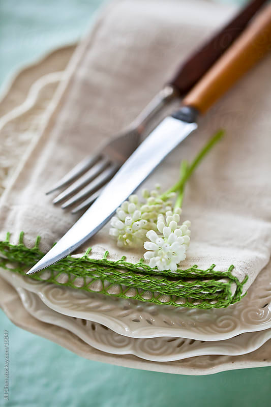 Spring Table Setting by Jill Chen for Stocksy United