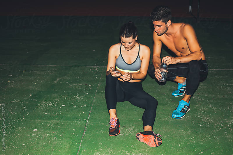 Late Night workout. by Studio Firma for Stocksy United