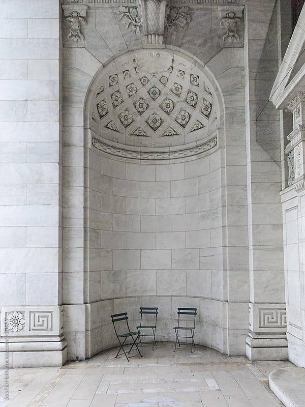 For the love of marble spaces by Sophia Hsin for Stocksy United