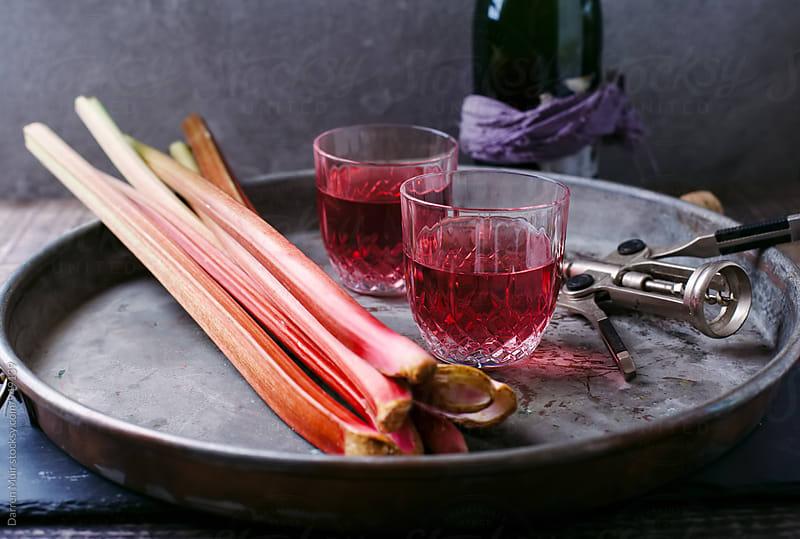 Rhubarb juice. by Darren Muir for Stocksy United