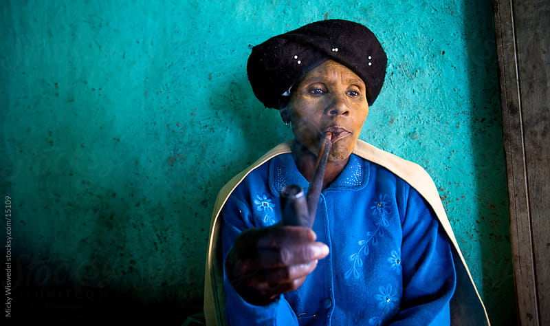 African Rural Xhosa woman by Micky Wiswedel for Stocksy United