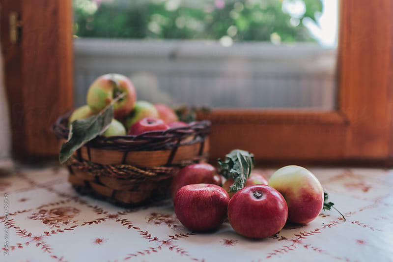 Red Apples by Zocky for Stocksy United