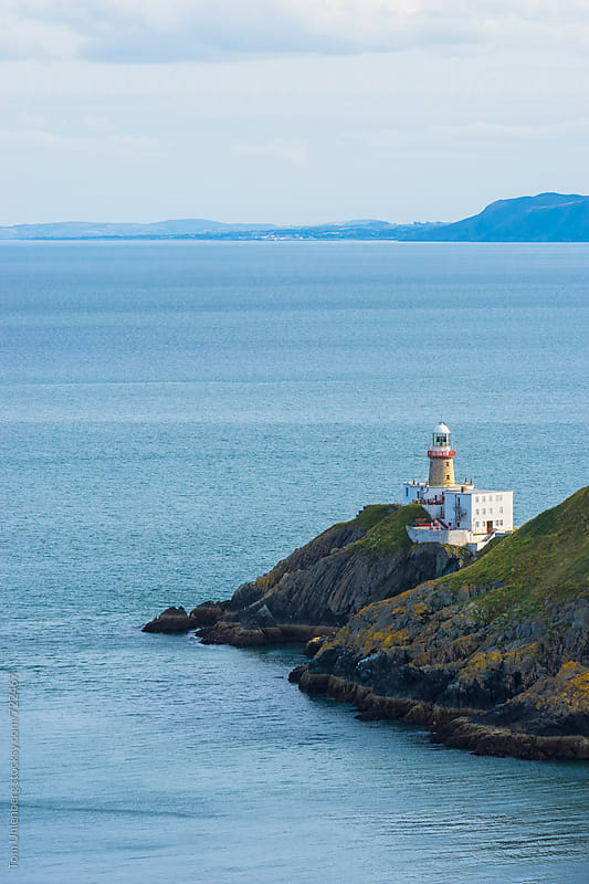 The Baily Lighthouse and Dublin Bay, Howth, Ireland by Tom Uhlenberg for Stocksy United