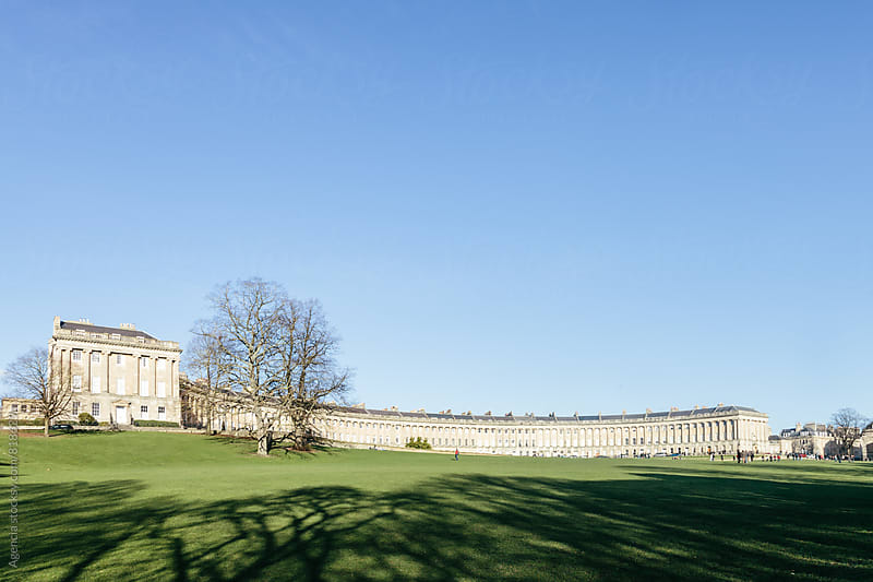 Royal Crescent, Bath by Agencia for Stocksy United