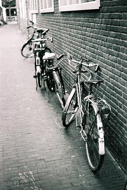 Dutch Bikes by Kristopher Orr for Stocksy United