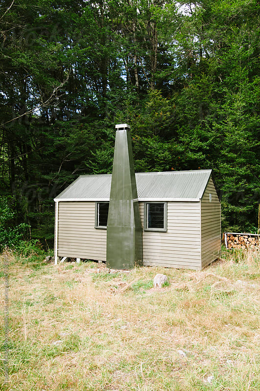 Hut, Leslie Karamea River, New Zealand. by Thomas Pickard for Stocksy United