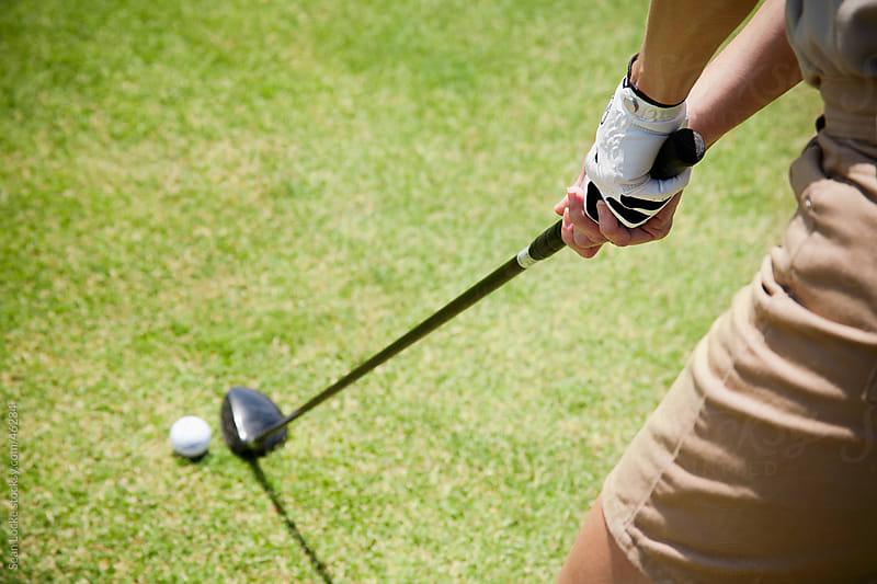 Golfer: Woman Ready to Use Wood by Sean Locke for Stocksy United