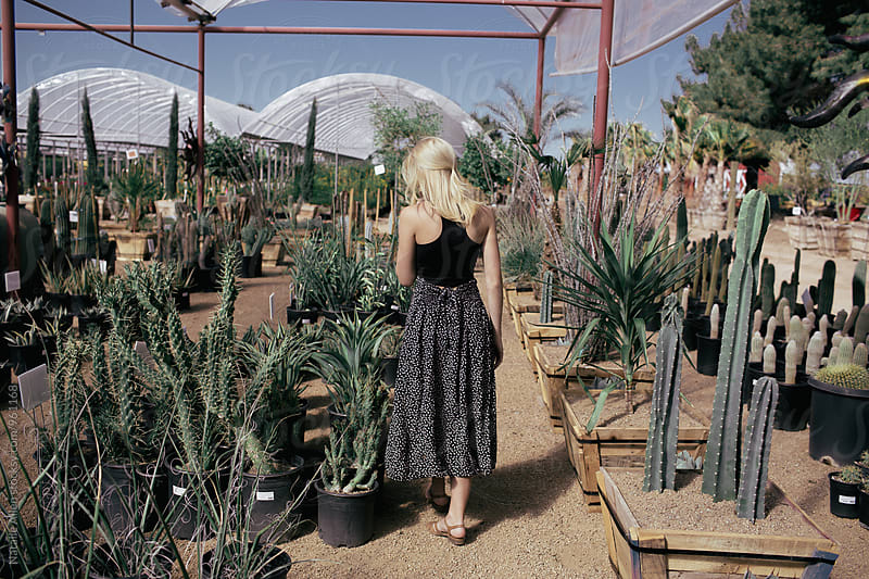 Plant Shopping. by Natalie Allen for Stocksy United