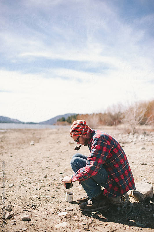 Mountain Man by Kristin Rogers Photography for Stocksy United