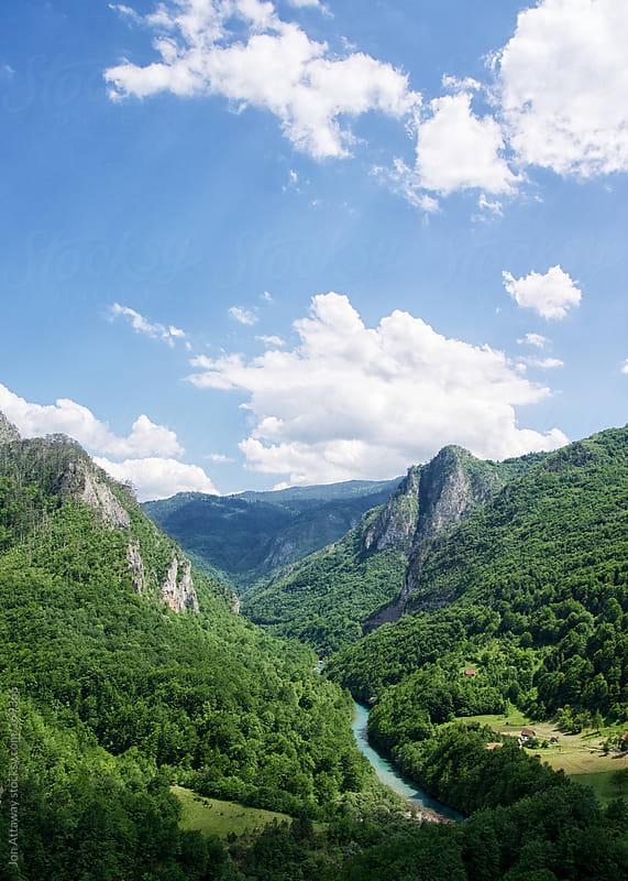 Tara gorge, Montenegro by Jon Attaway for Stocksy United