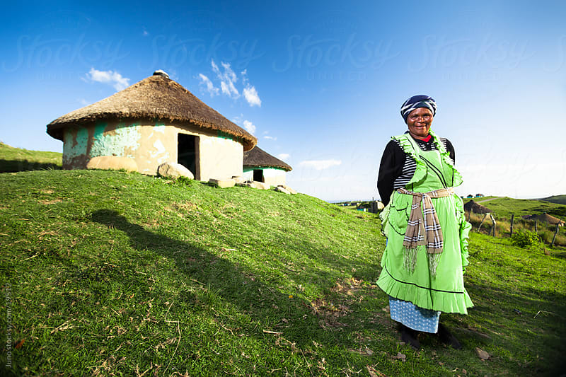 Rural Xhosa Woman by Micky Wiswedel for Stocksy United