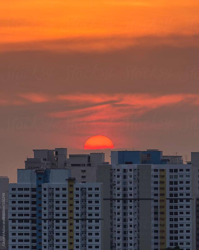 Sunset Housing by Edward Adios for Stocksy United