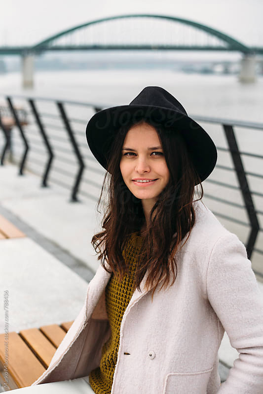 Woman in the city by Marko Milovanović for Stocksy United
