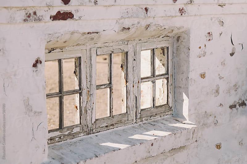 Window in the ruins of Marup kirke in Lonstrup, North Jutland by Elisabeth Coelfen for Stocksy United