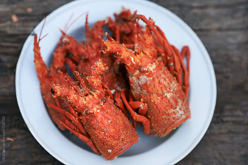 Crawfish heads and tails  by Jill Chen for Stocksy United