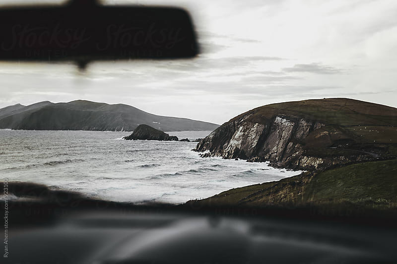 Ocean view from the Car by Ryan Ahern for Stocksy United