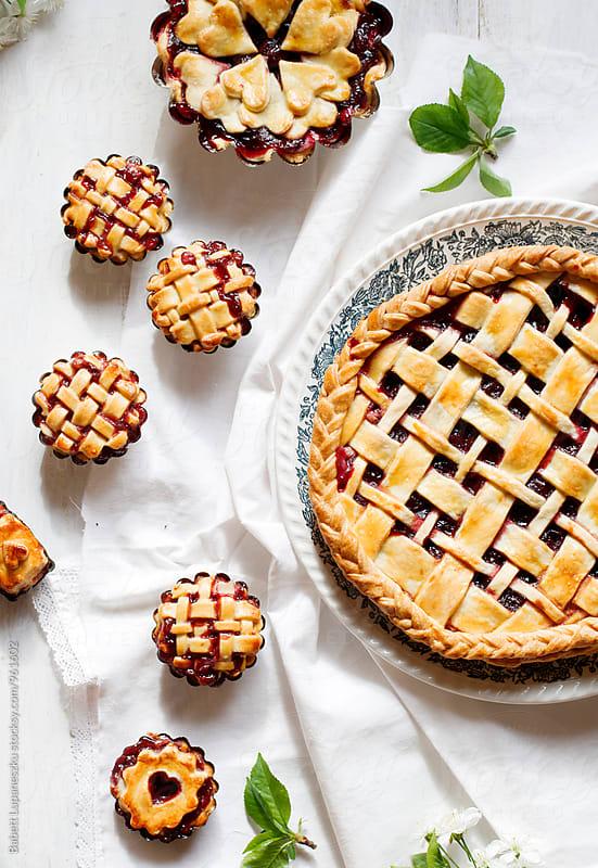 Cherry pie by Viktorné Lupaneszku for Stocksy United