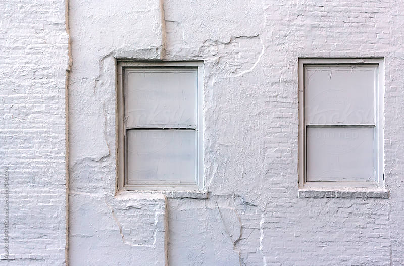 White windows by ALAN SHAPIRO for Stocksy United
