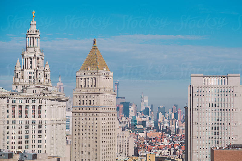 New York City (NYC) Skyline by Lauren Naefe for Stocksy United