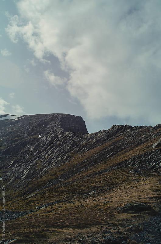 Mountain Ridge by Neil Warburton for Stocksy United