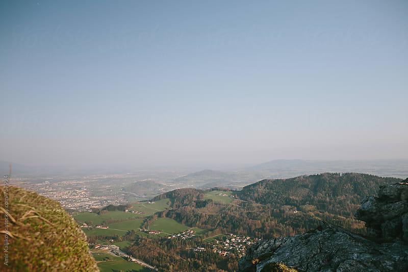 Landscape in Austria by Amir Kaljikovic for Stocksy United