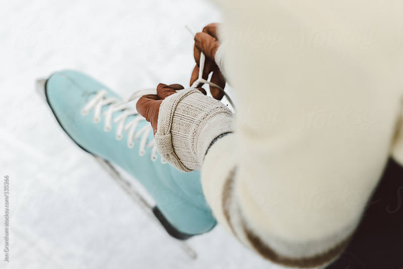 Ice Skating by Jen Grantham for Stocksy United