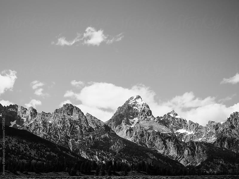 Grand Teton National Park, Wyoming by Jeremy Pawlowski for Stocksy United