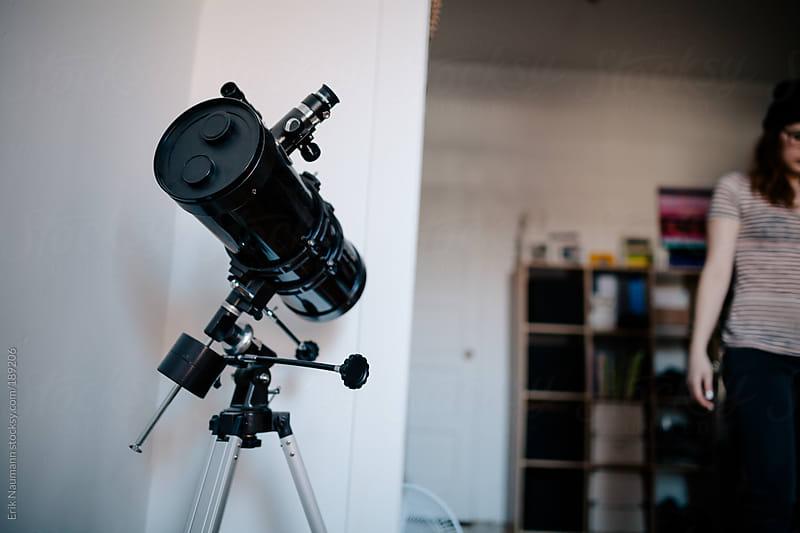 Telescope corner by Erik Naumann for Stocksy United
