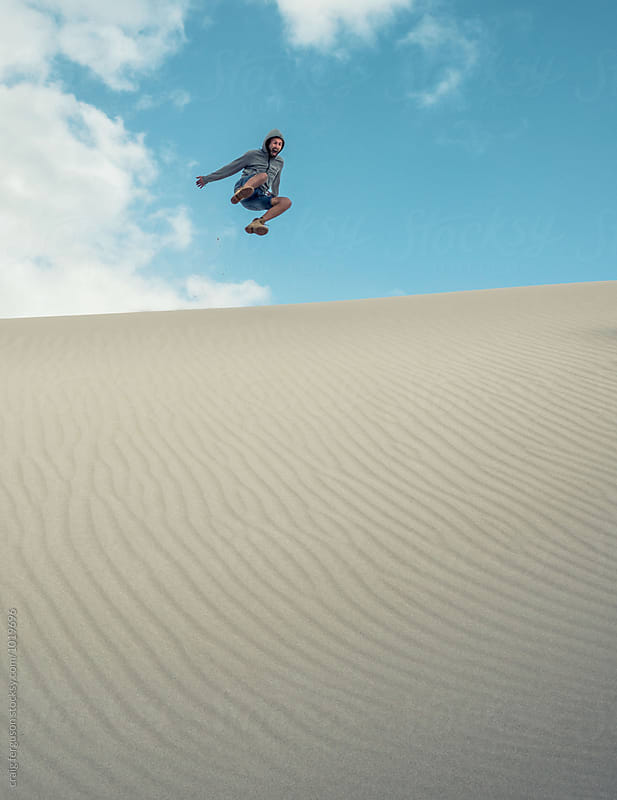 Dune Jumper 02 by craig ferguson for Stocksy United