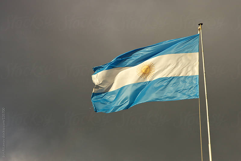 Argentine flag by Jon Attaway for Stocksy United