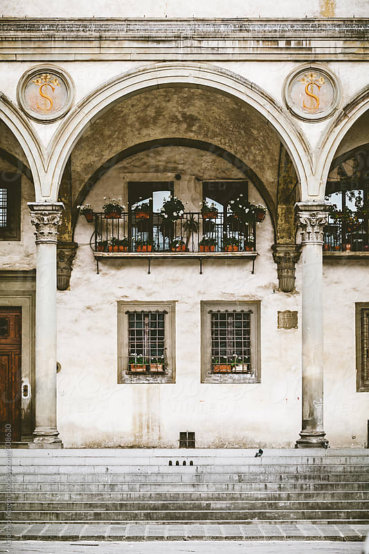 Renaissance Loggia in Florence, Italy by Giorgio Magini for Stocksy United