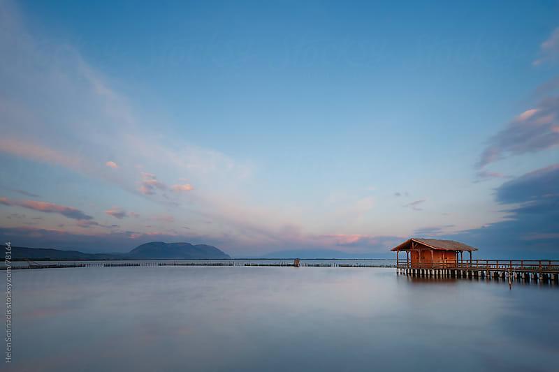 Stilt house by Helen Sotiriadis for Stocksy United