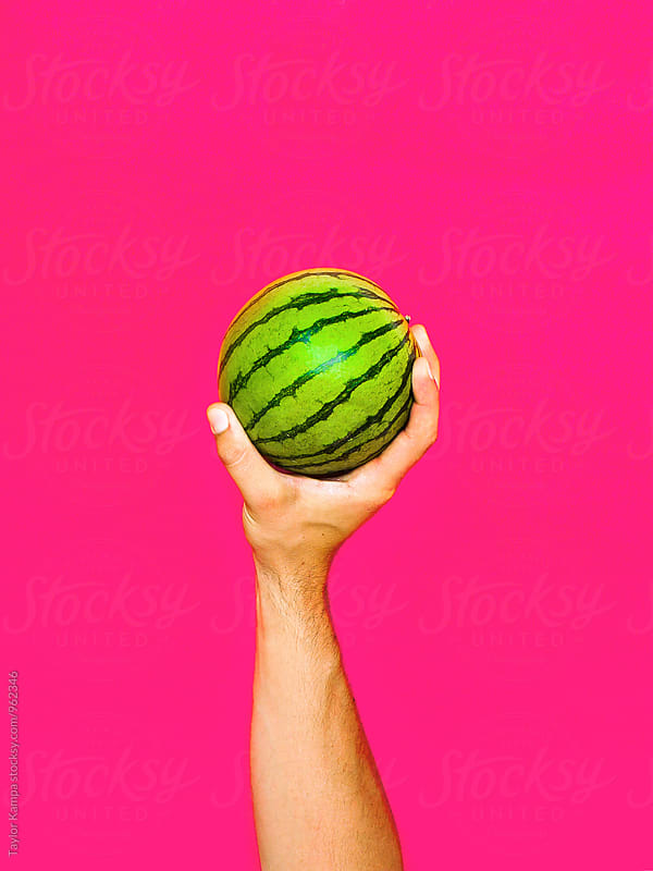 Here's a Watermelon by Taylor Kampa for Stocksy United