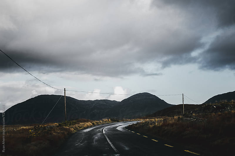 On the Road by Ryan Ahern for Stocksy United