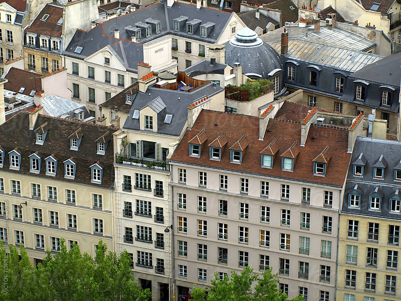 Paris Facades by VICTOR TORRES for Stocksy United