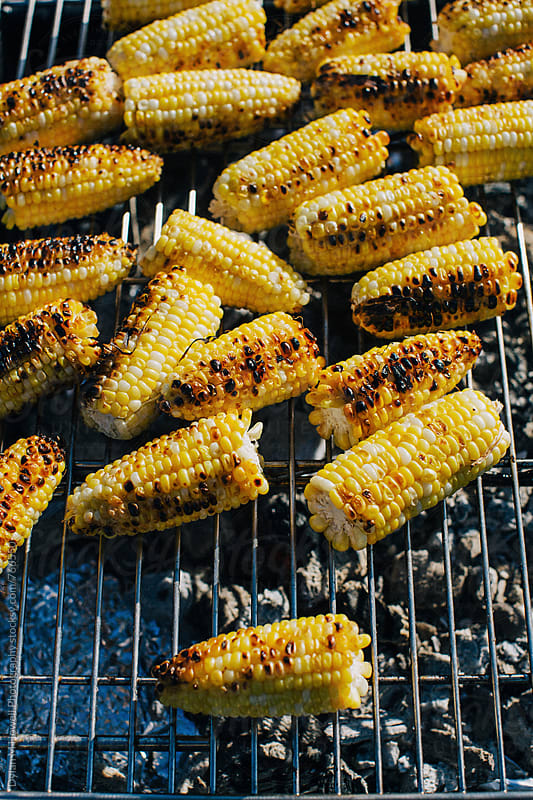 Grilled Corn by Dylan M Howell Photography for Stocksy United