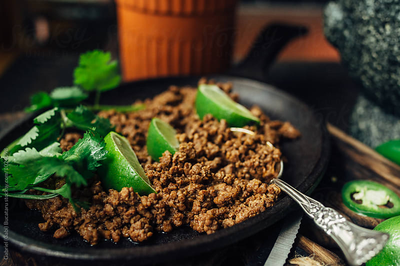 Taco meat by Gabriel (Gabi) Bucataru for Stocksy United