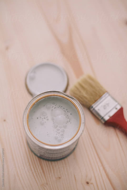 Painting a surface by Davide Illini for Stocksy United