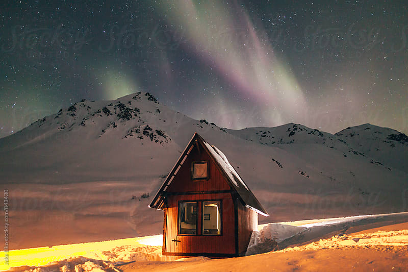 Winter Solstice Aurora Cabin Adventures in Hatcher Pass