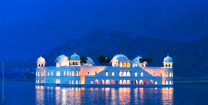 The Floating Palace. Jaipur, Rajasthan. India by Hugh Sitton for Stocksy United