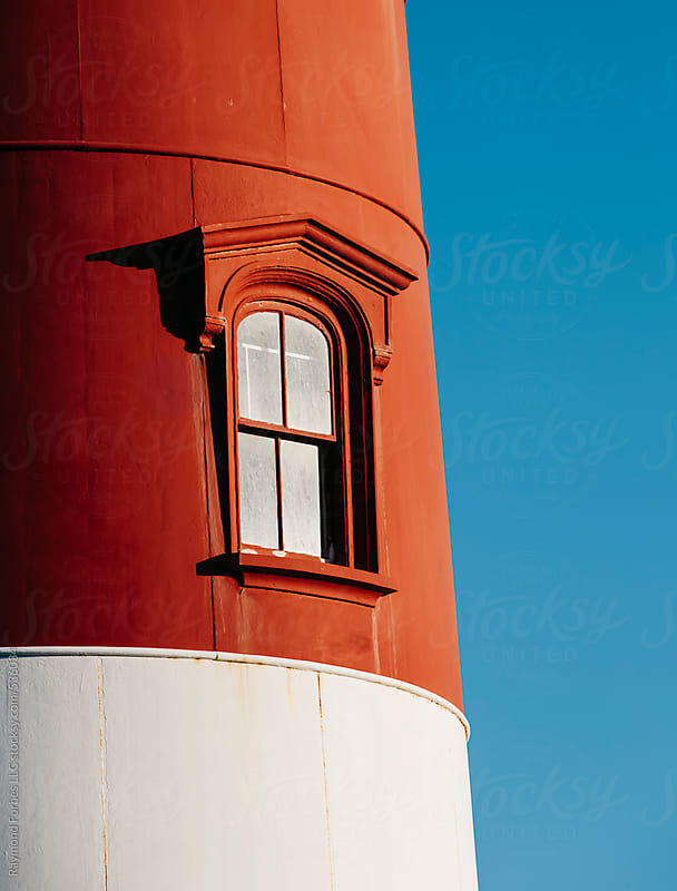Nauset Light on Cape Cod Eastham, Massachusetts by Raymond Forbes LLC for Stocksy United