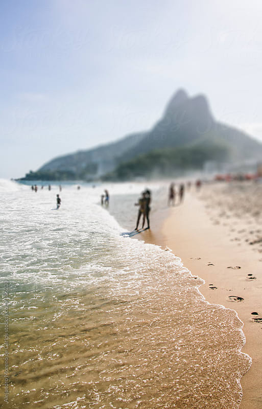 Beach of Ipanema in Rio de Janeiro, Brazil by Alejandro Moreno de Carlos for Stocksy United