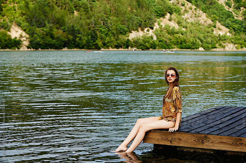 Lakeside shoot by Atakan-Erkut Uzun for Stocksy United