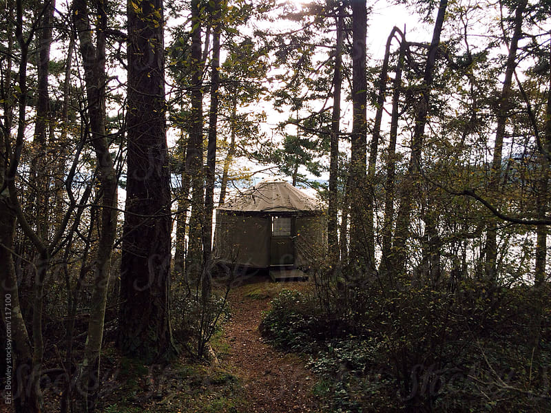 Doe Bay Yurt Life by Eric Bowley for Stocksy United