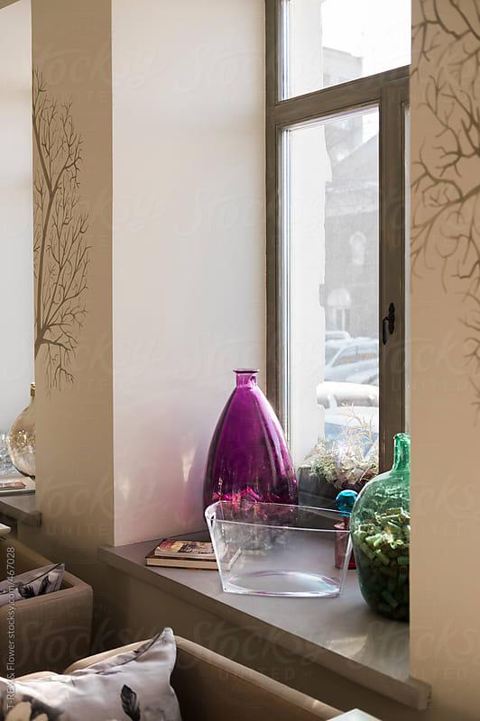 Trendy cafe interior by Danil Nevsky for Stocksy United