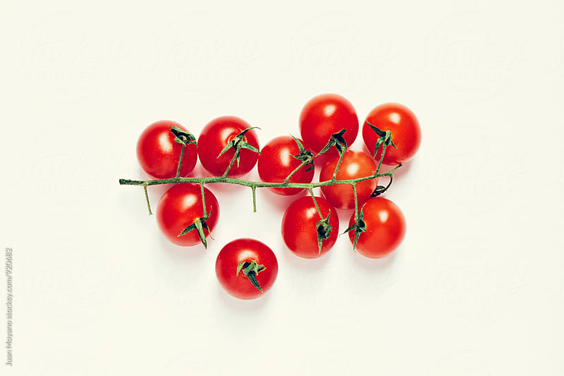 cherry tomatoes by juan moyano for Stocksy United