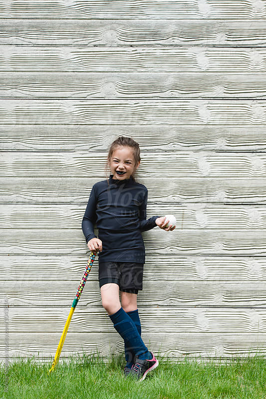 Young Field Hockey Player by Ronnie Comeau for Stocksy United