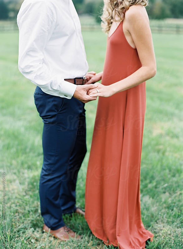 Engagement Party Happy Couple by Vicki Grafton Photography for Stocksy United