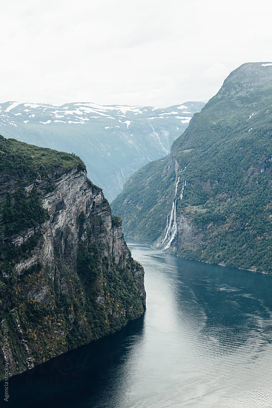 Geiranger Fjord by Agencia for Stocksy United