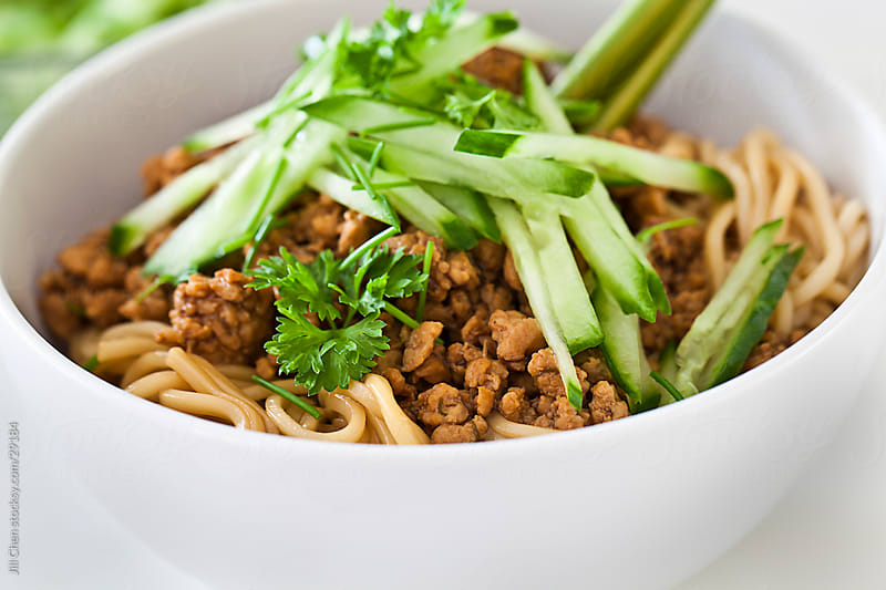 Asian Toss Noodles by Jill Chen for Stocksy United